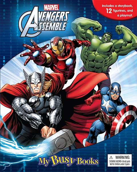 toko mainan online MY BUSY BOOK MARVEL AVENGERS