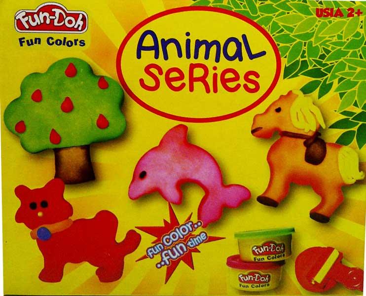 toko mainan online DOUGH ANIMAL SERIES-28010