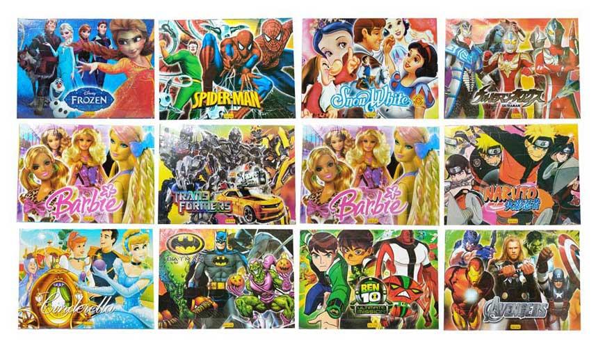 toko mainan online PUZZLE MINI KARAKTER - LC337