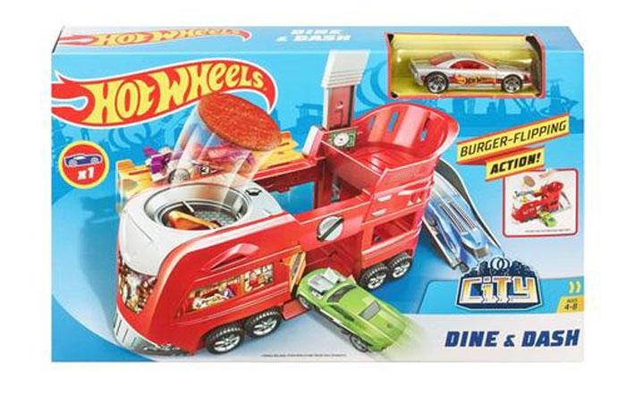 toko mainan online HOT WHEELS DINE & DASH - FJN39