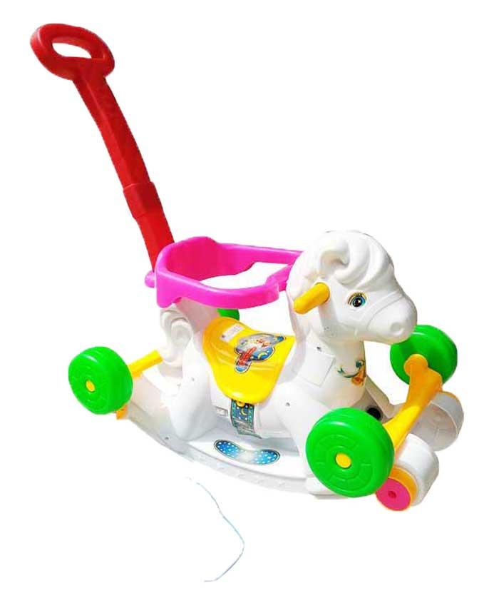 toko mainan online RIDE ON HORSE PUTIH - 281M-P