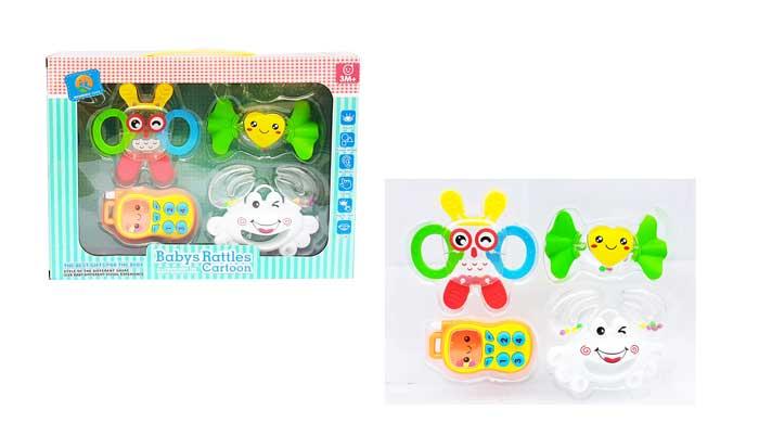 toko mainan online BABYS RATTLES CARTOON - A24