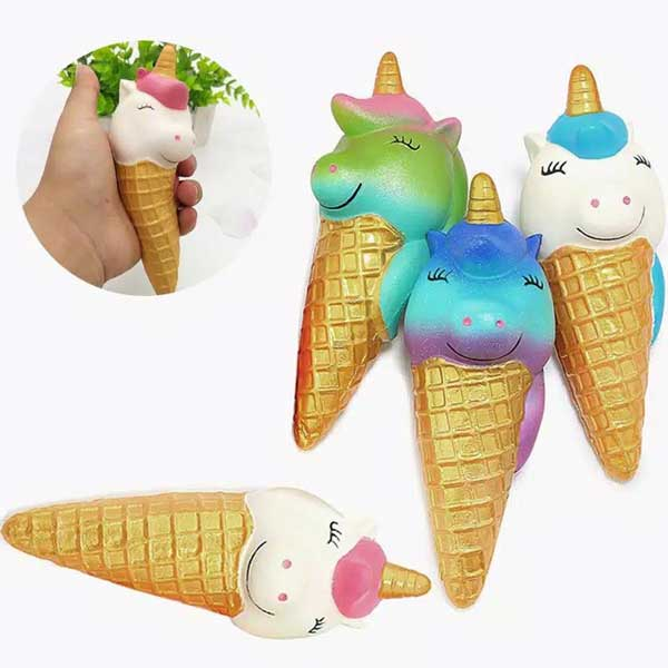 toko mainan online SQUISHY UNICORN ICE CREAM - LC295