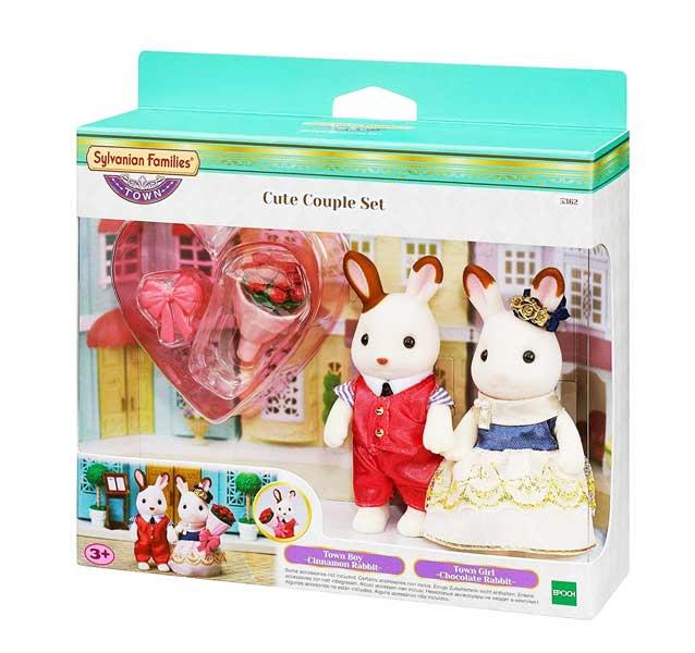 toko mainan online SYLVANIAN CUTE COUPLE - 5362