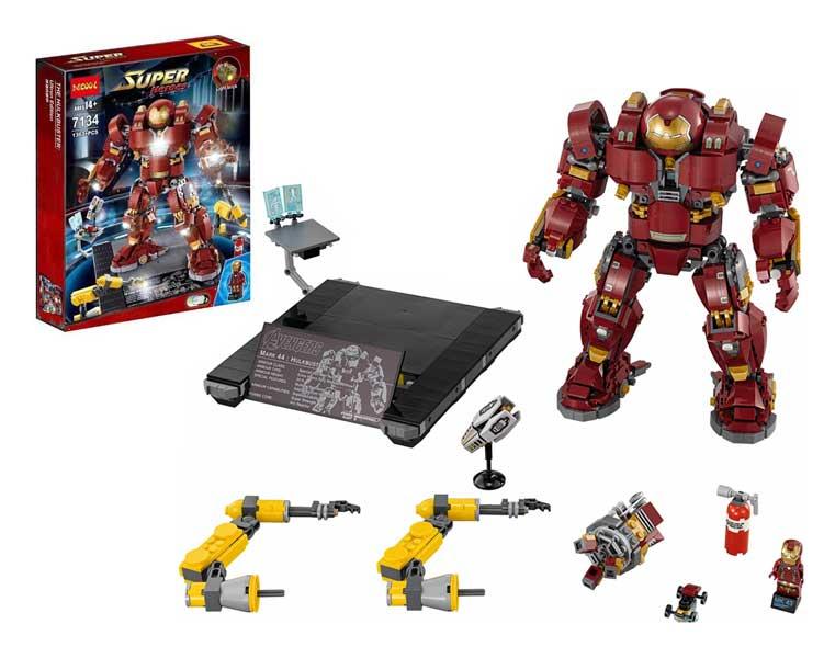toko mainan online DECOOL SUPER HEROES IRONMAN 1363PCS - 7134