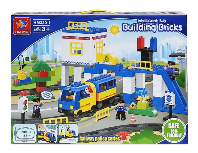 toko mainan online INTELLIGENT BUILDING BRICK - HM320-1