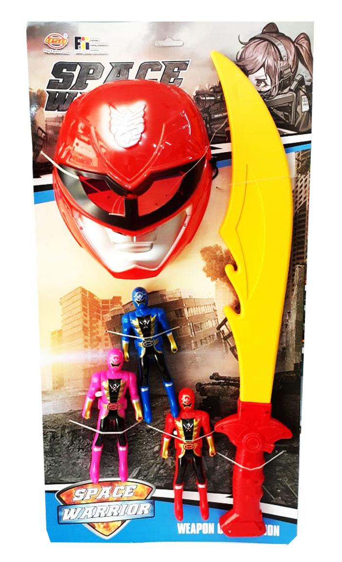 toko mainan online TOPENG PEDANG POWER RANGER-F1617
