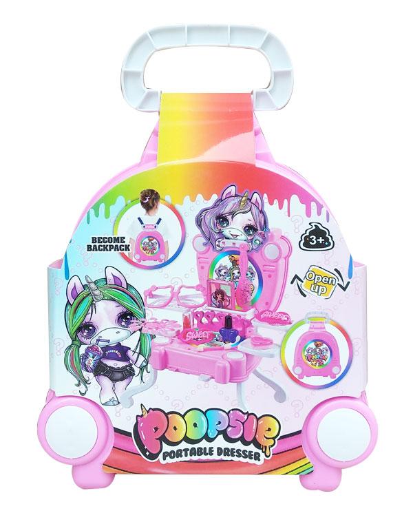 toko mainan online PORTABLE DRESSER POOPSIE - 588-23
