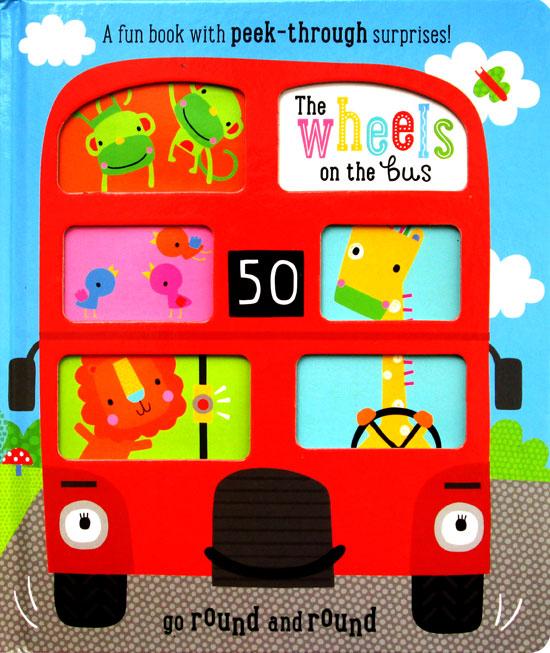 toko mainan online PEEK THROUGH THE WHEELS ON THE BUS - 923851