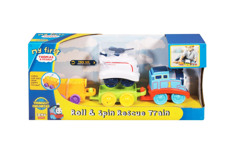 toko mainan online THOMAS ROLL AND SPIN RESCUE TRAIN - FKM91