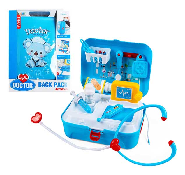 toko mainan online DOCTOR BACK PACK 17PCS - 8361WB