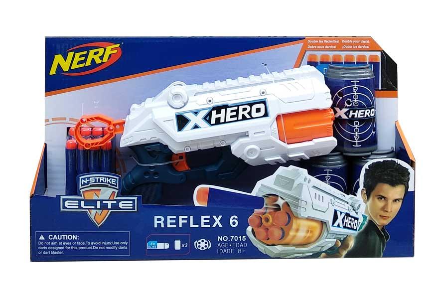 toko mainan online NERF REFLEX 6 - 7015