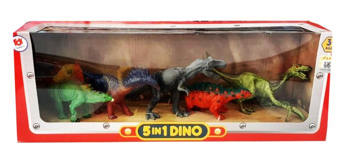 toko mainan online 5 IN 1 DINOSAURS - CPSYJ001