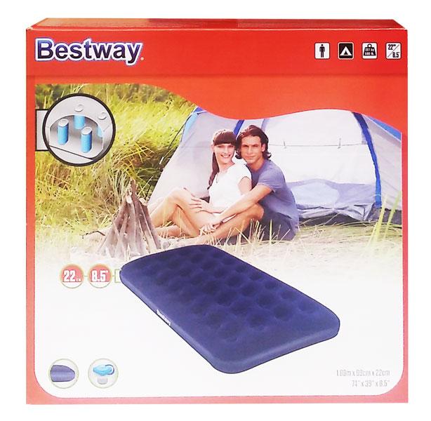 toko mainan online BESTWAY AIR BED TWIN - 67001