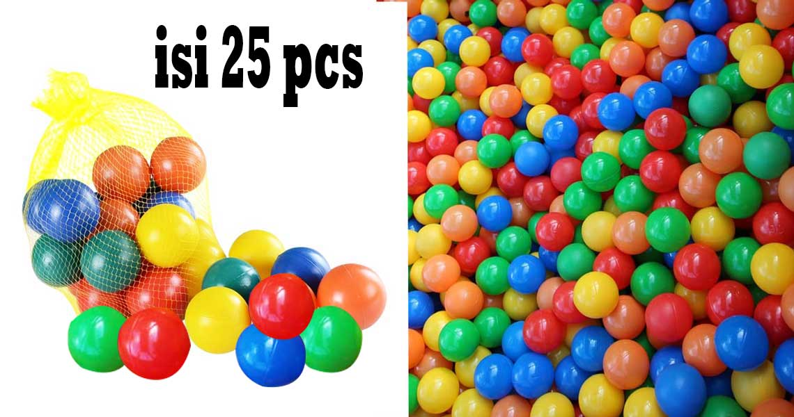 toko mainan online MANDI BOLA ISI 25 - M-25