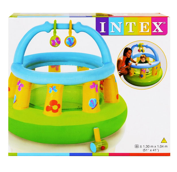toko mainan online INTEX SOFT SIDES MY FIRST GYM - 48474