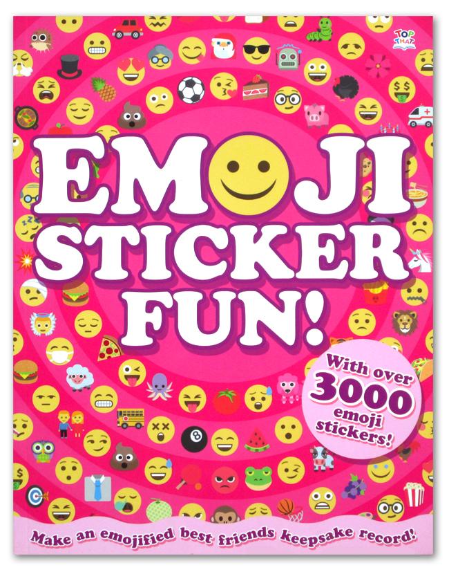 toko mainan online EMOJI STICKER FUN - 001718