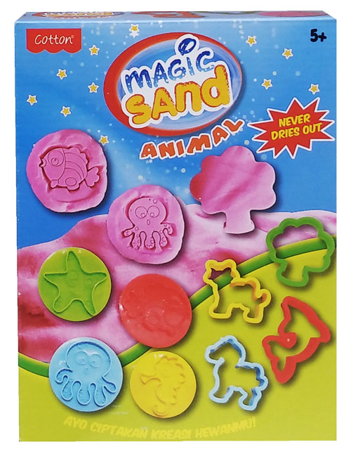 toko mainan online MAGIC SAND ANIMAL - 49007