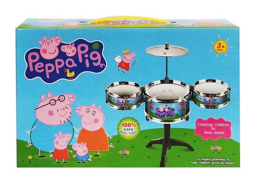 toko mainan online PEPPA PIG DRUM SET - 002A