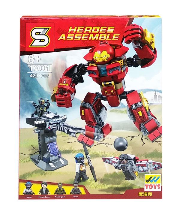 toko mainan online HEROES ASSEMBLE 420PCS - 1001