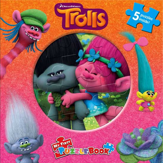 toko mainan online MY FIRST PUZZLE BOOK TROLLS