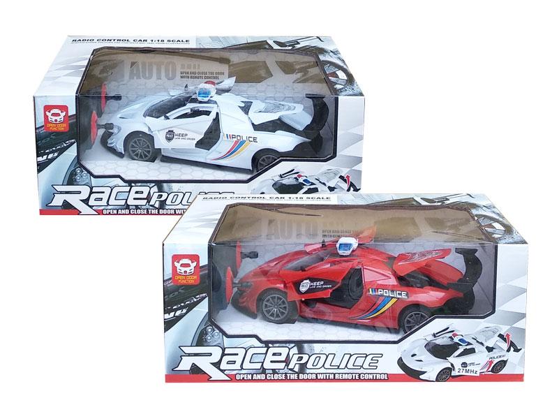 toko mainan online RC RACE POLICE - RC1800-2P