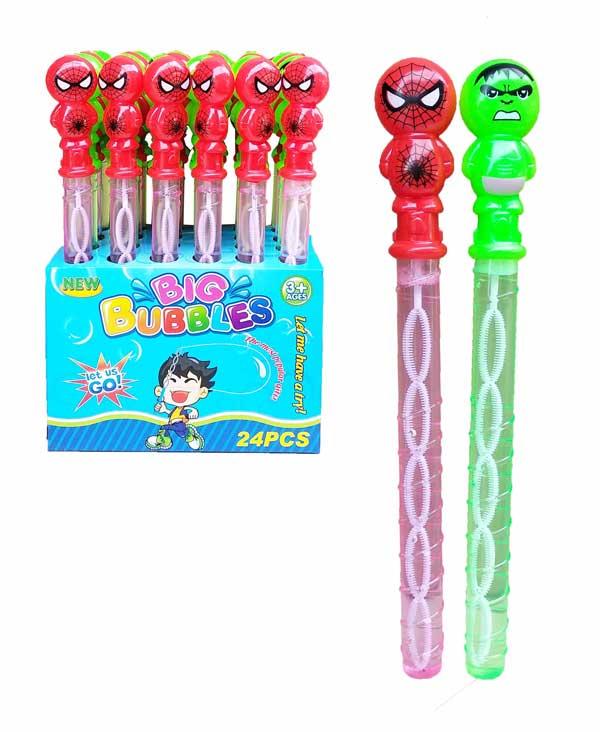 toko mainan online BUBBLE PANJANG HULK/SPIDERMAN