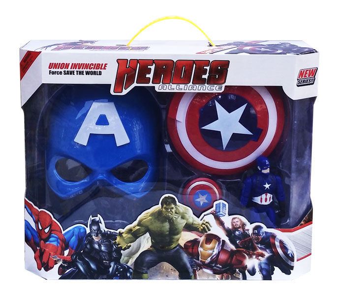 toko mainan online HEROES ALLIANCE CAPTAIN AMERICA - WL3021