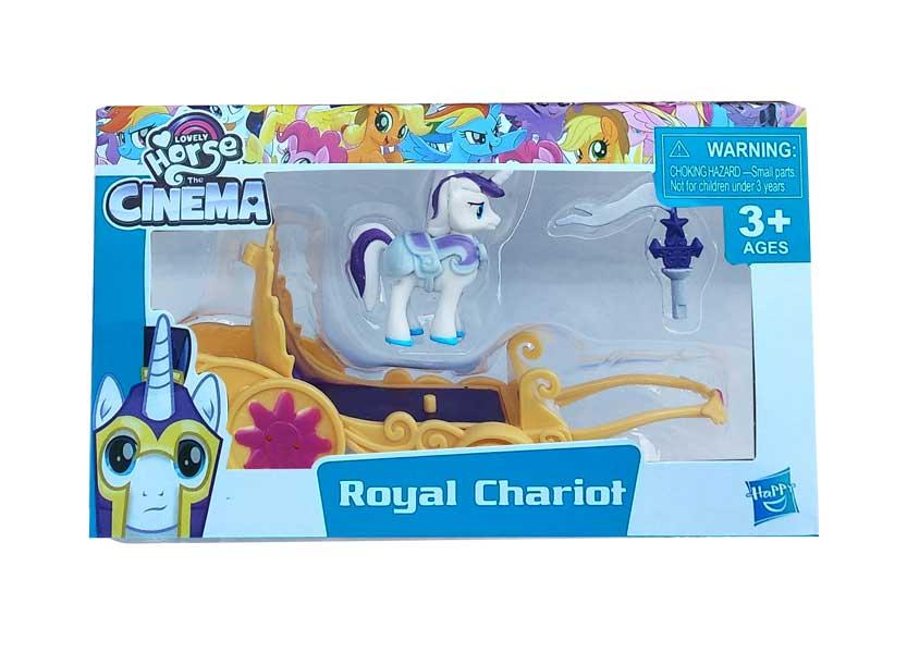 toko mainan online ROYAL CHARIOT HORSE - LL03