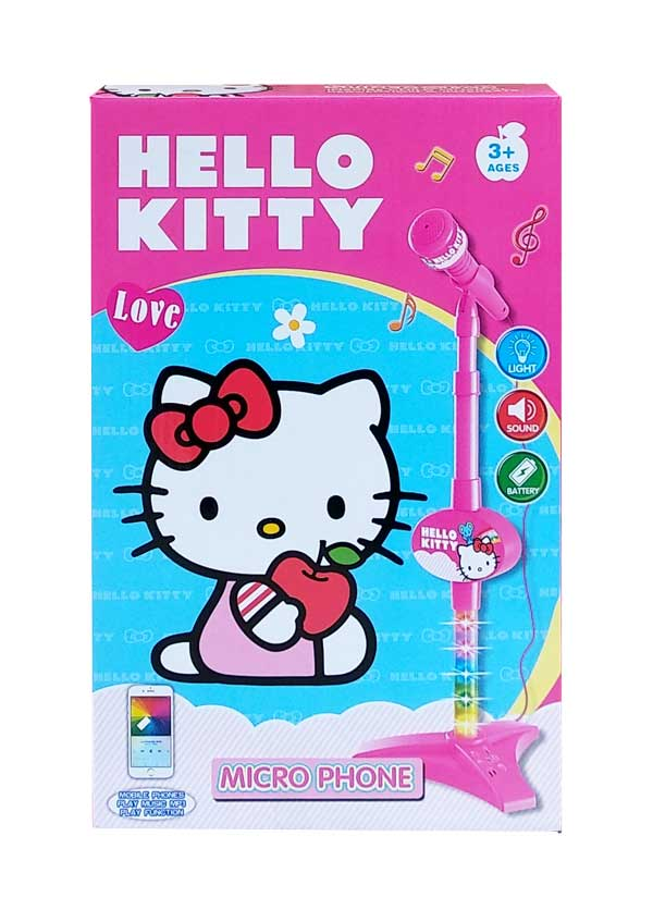 toko mainan online MICROPHONE HELLO KITTY - 8015A