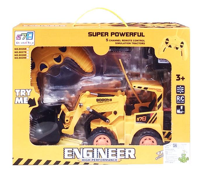 toko mainan online RC ENGINEER BULLDOZER - 8026E