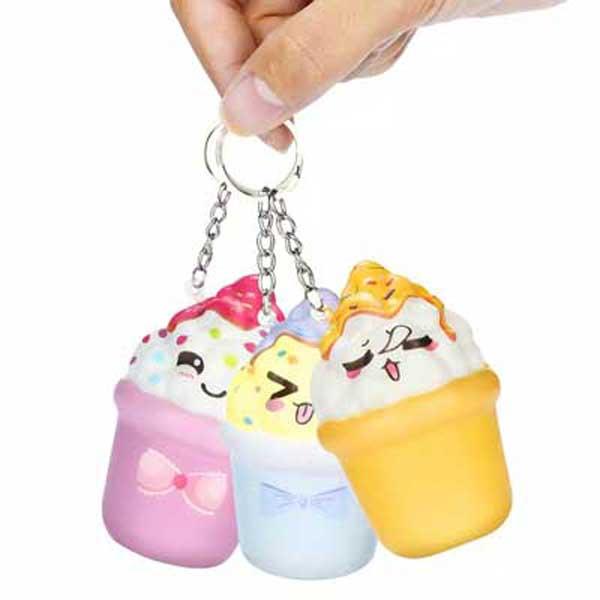 toko mainan online SQUISHY ICE CREAM KEYCHAIN
