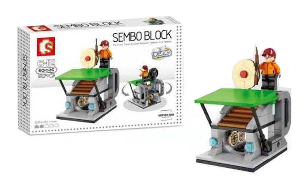 toko mainan online SEMBO BLOCK 127PCS - 601026