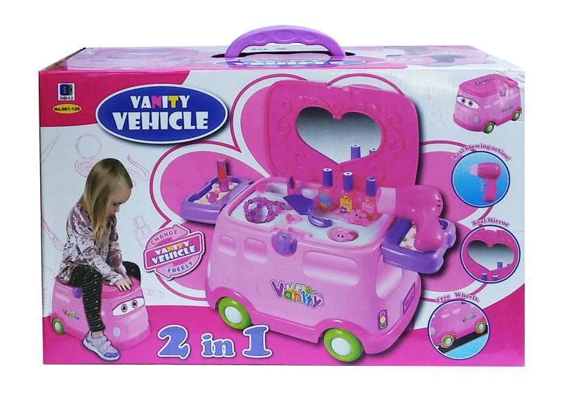 toko mainan online VANITY VEHICHLE 2 IN 1 - 661-126