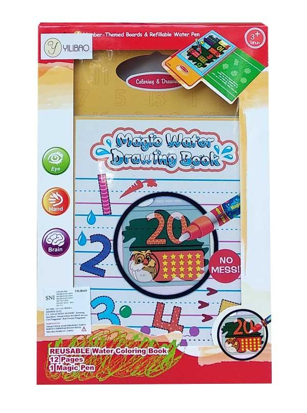 toko mainan online MAGIC WATER ANGKA - LT2985