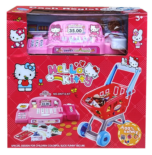 toko mainan online CASH REGISTER HELLO KITTY DN712