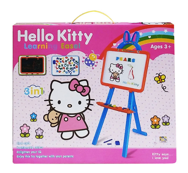 toko mainan online LEARNING EASEL HELLO KITTY - KT3655