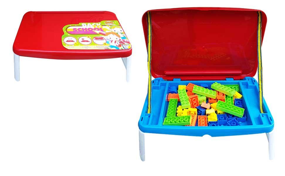 toko mainan online MEJA BELAJAR ANAK + BLOCK - ST1677