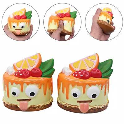 toko mainan online SQUISHY KUE MATA - LC392