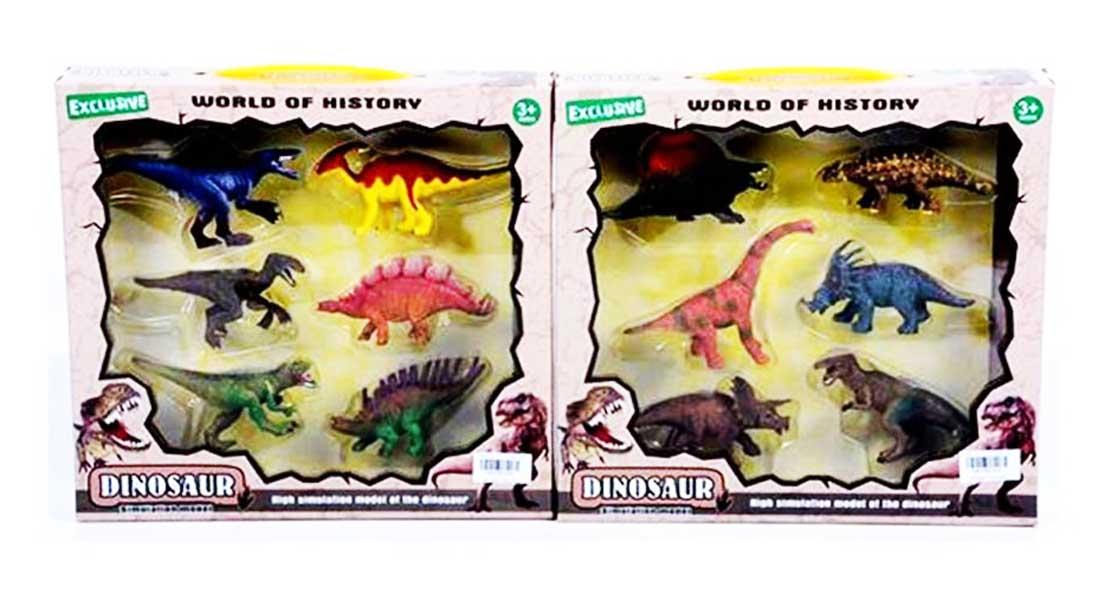 toko mainan online DINOSAUR DUS ISI 6 - TBS035