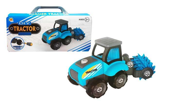 toko mainan online DIY TRACTOR BIRU - 0596-2