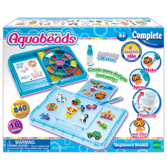 toko mainan online AQUABEADS BEGINNERS STUDIO - 32788