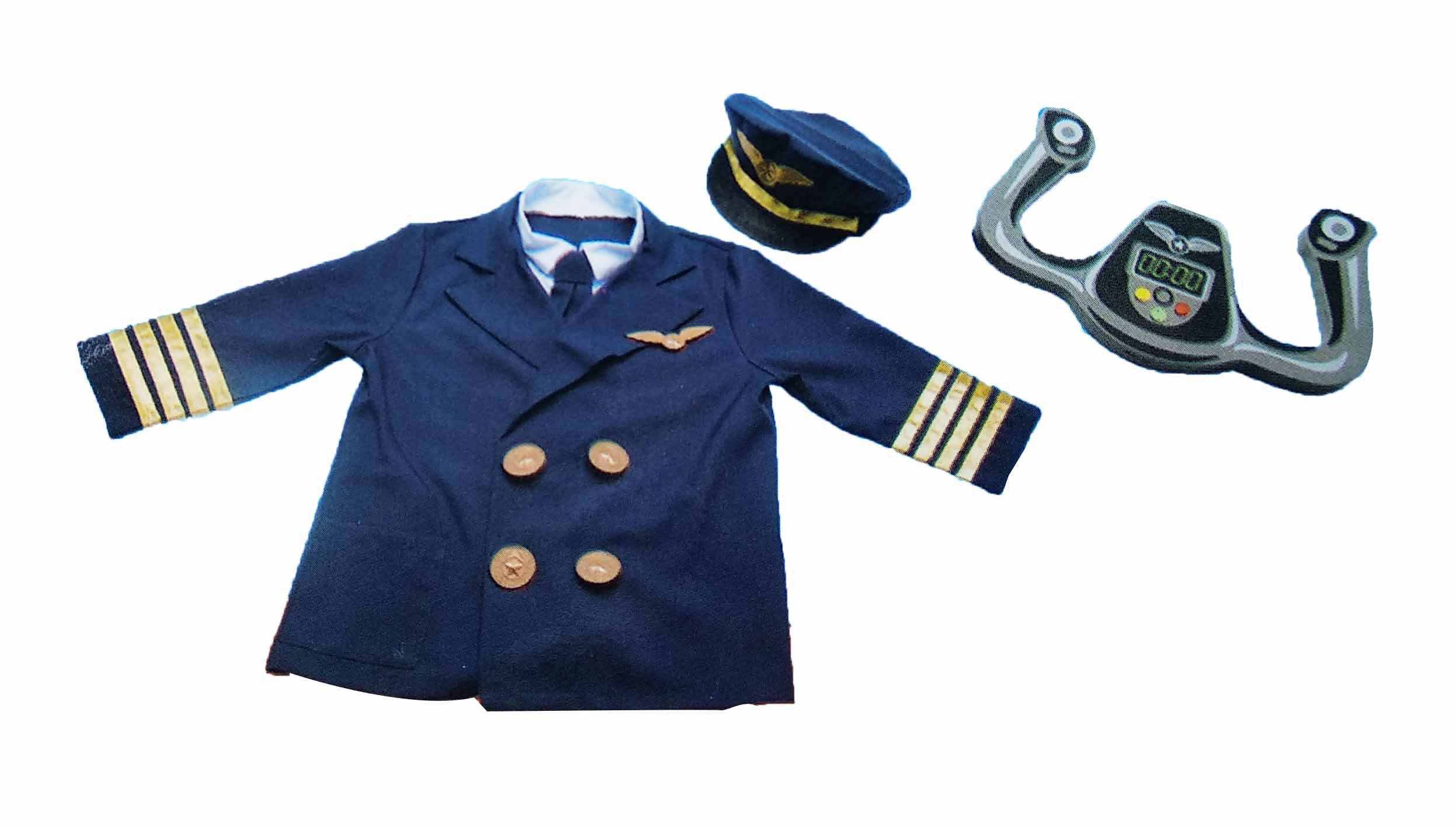 toko mainan online LESHENG PILOT COSTUME - 0995