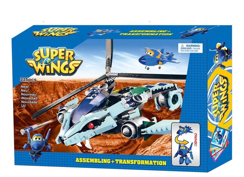 toko mainan online BLOCKS SUPER WINGS 335PC - 161169 (BIRU)
