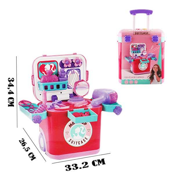 toko mainan online MAKE-UP SUITCASE - L666-37A