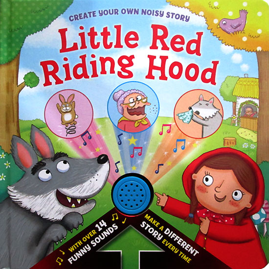 toko mainan online Create Your Own Noisy Story Little Red Riding Hood