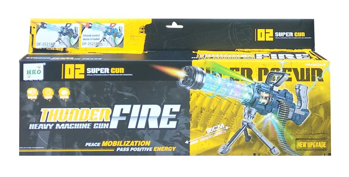 toko mainan online THUNDER FIRE GUN - DF-25218B