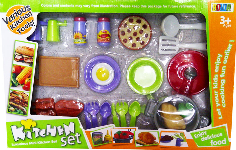 Toko mainan online for Kitchen set hijau