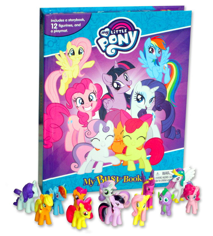 toko mainan online MY BUSY BOOK LITTLE PONY