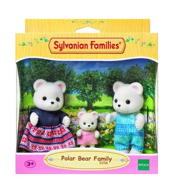 toko mainan online SYLVANIAN POLAR BEAR - 5396